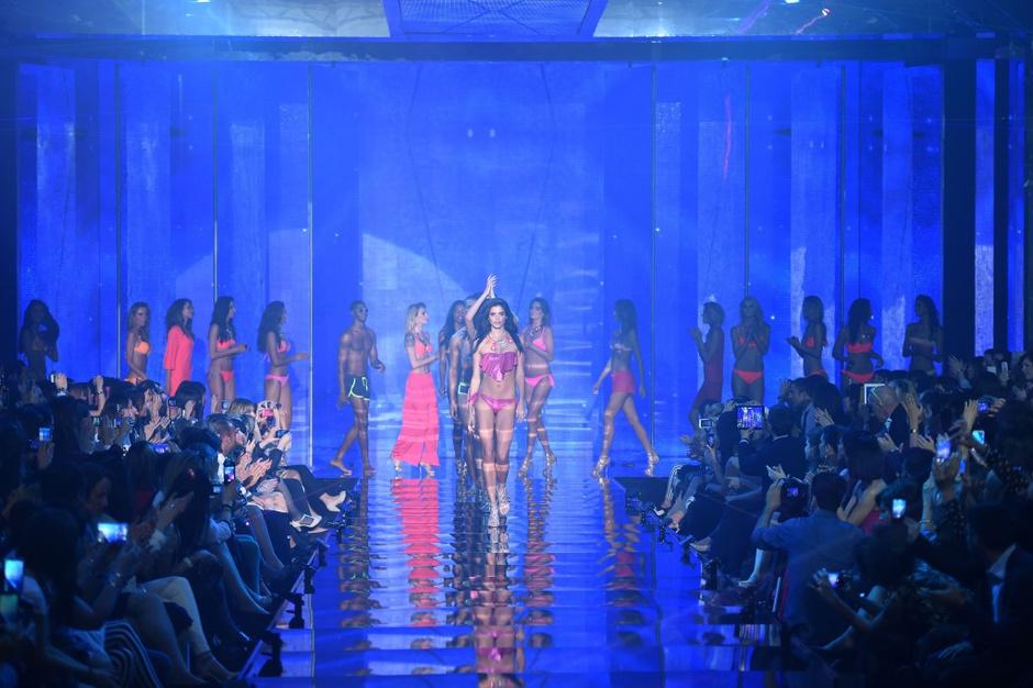 В Вероне прошло ежегодное Calzedonia Show 2014