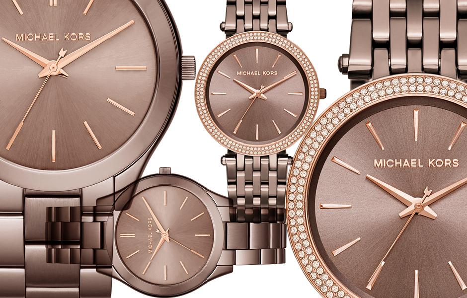 Michael Kors представили осеннюю коллекцию часов