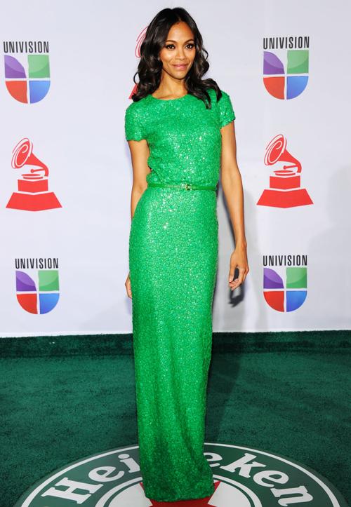 Премия Latin Grammy, 2011 Зои Салдана