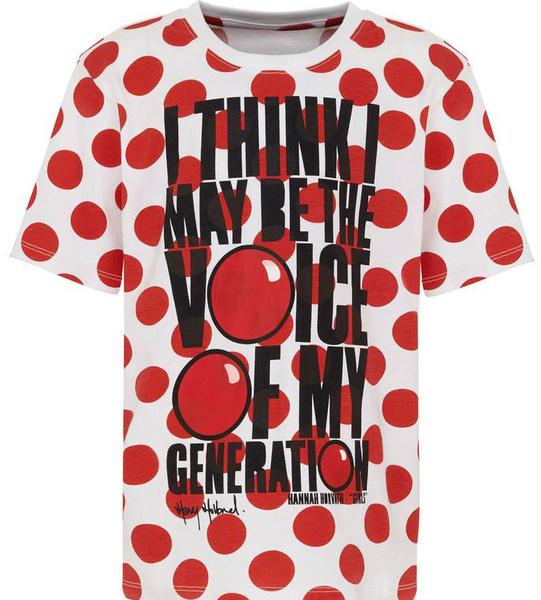 Известные дизайнеры создали футболки ко Дню красного носа | галерея [1] фото [3]