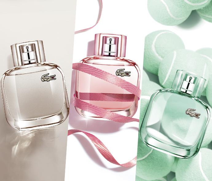 Lacoste объявляет конкурс для обладательниц ароматов EAU DE LACOSTE L.12.12. Pour Elle