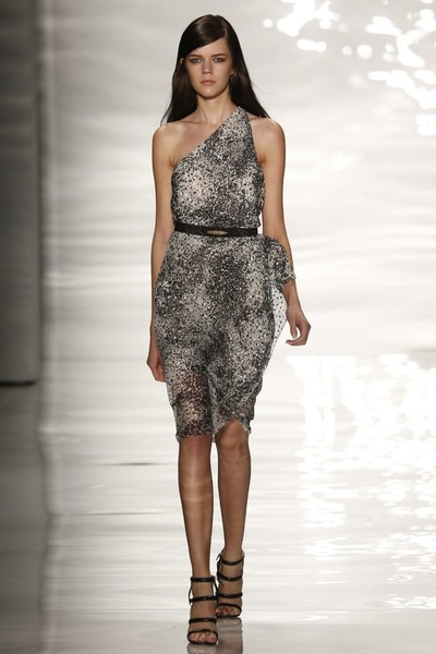 Показ Reem Acra на Неделе моды в Нью-Йорке
