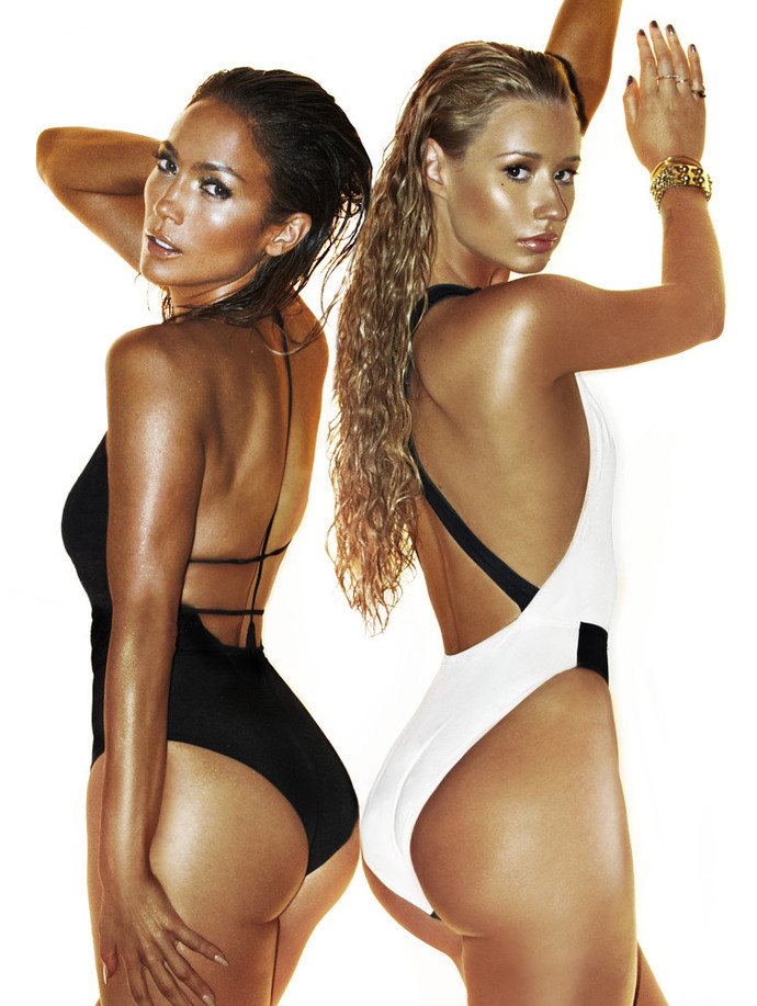 Дженнифер Лопес и Игги Азалия на кавере сингла Booty фото