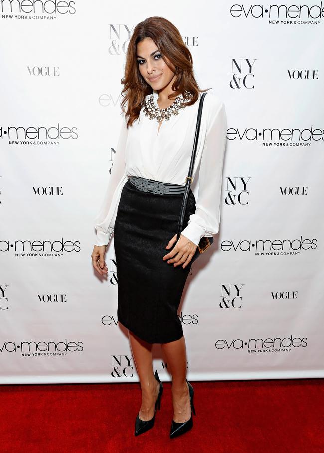 Ева Мендес в New York & Company