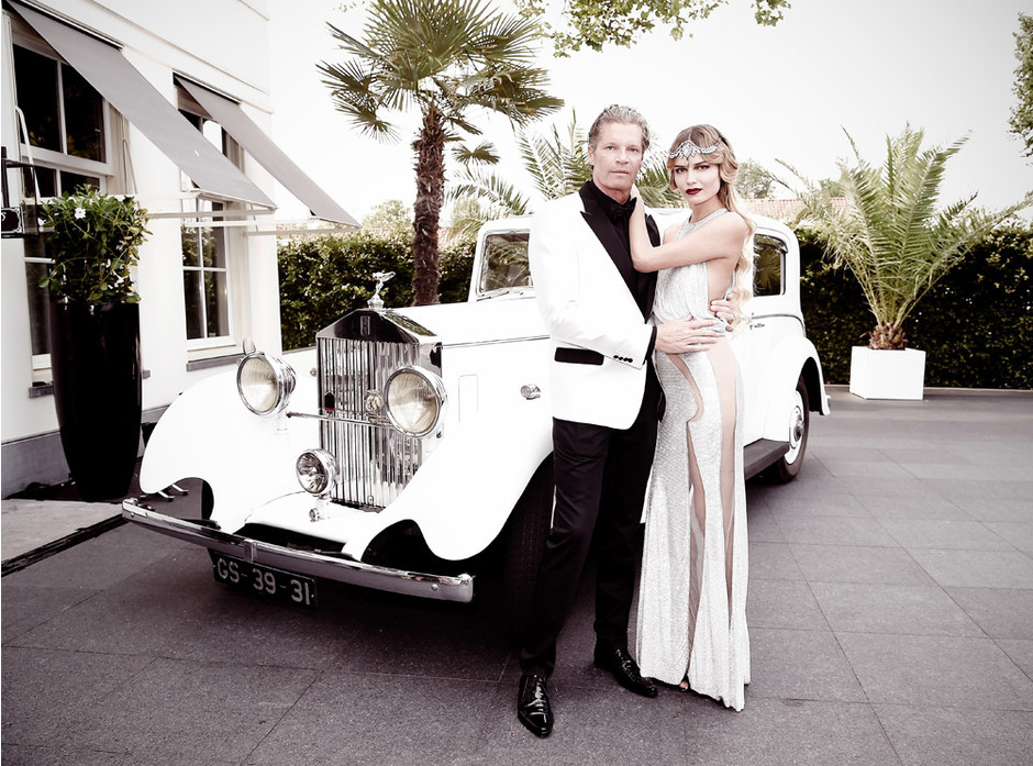 Наташа Поли с супругом