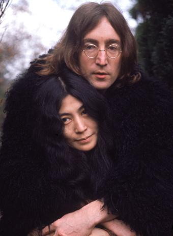 Йоко Оно и Джон Леннон фото
