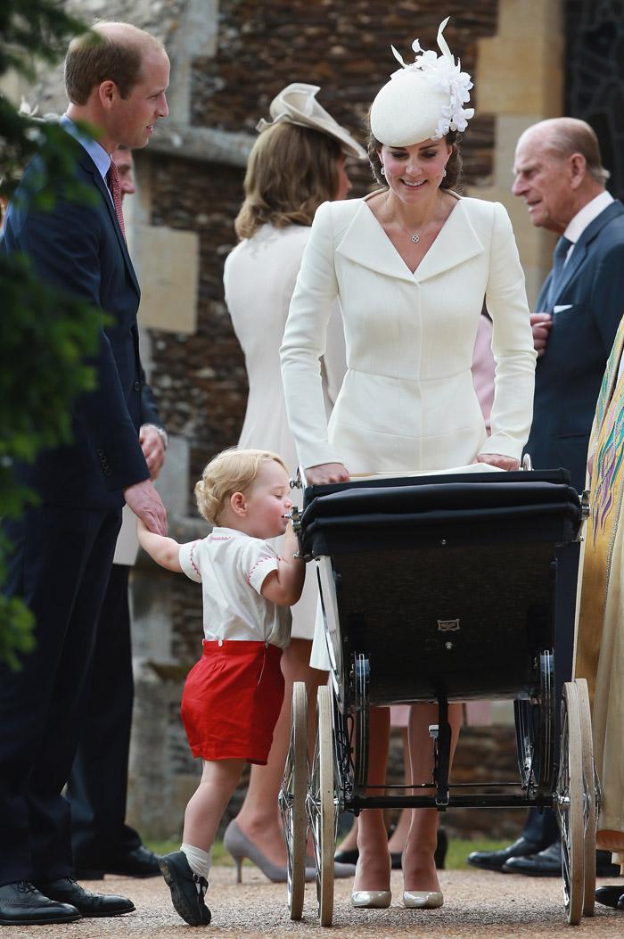 Принц Георг Кембриджский: фото 2015