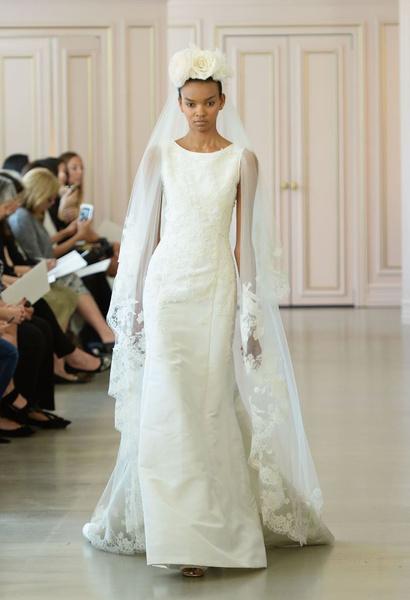 Дом Oscar de la Renta представил новую свадебную коллекцию | галерея [1] фото [8]