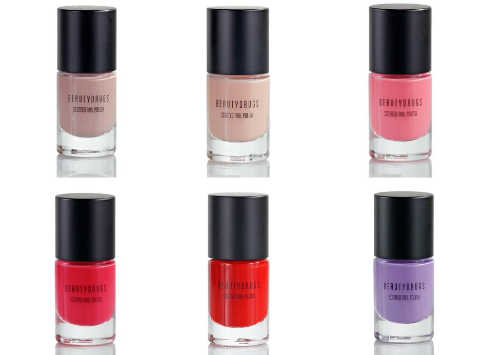 Ароматизированный лак для ногтей Scented Nail Polish от Beautydrugs