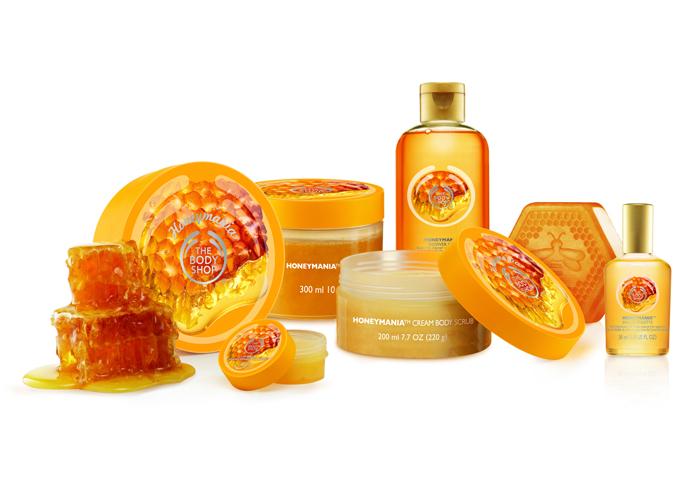 Коллекция средств по уходу для тела Honeymania, The Body Shop