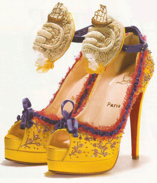 туфли кристиан лабутен