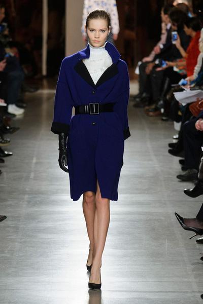 Показ Oscar de la Renta на Неделе моды в Нью-Йорке | галерея [1] фото [37]