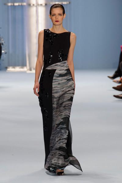 Black tie: показы Carolina Herrera, Reem Acra и Zac Posen на Неделе моды в Нью-Йорке | галерея [2] фото [7]