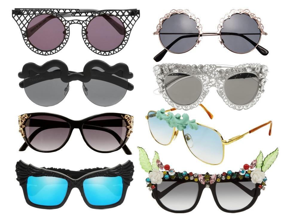 House of Holland, ASOS, Le Specs, Dolce&Gabbana, H&M, MOO Eyewear, Anna-Karin Karlsson, Anna-Karin Karlsson