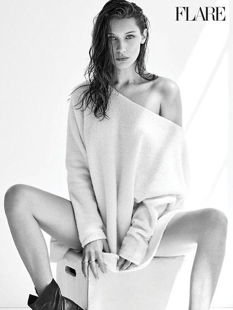 Белла Хадид снялась в новой сексуальной фотосессии