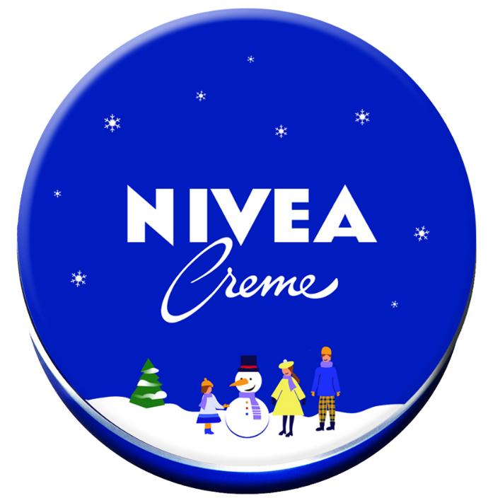 Легендарная баночка крема для тела NIVEA в новом дизайне