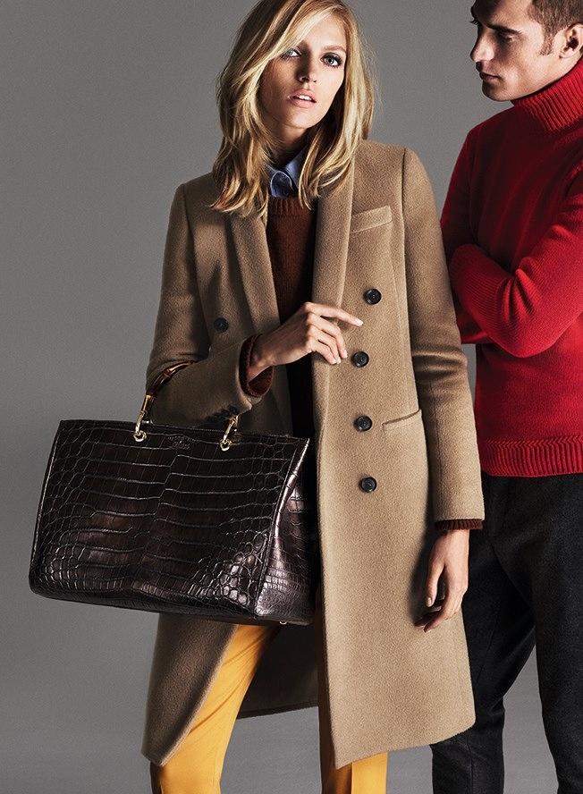 Польская модель Аня Рубик в рекламе Gucci