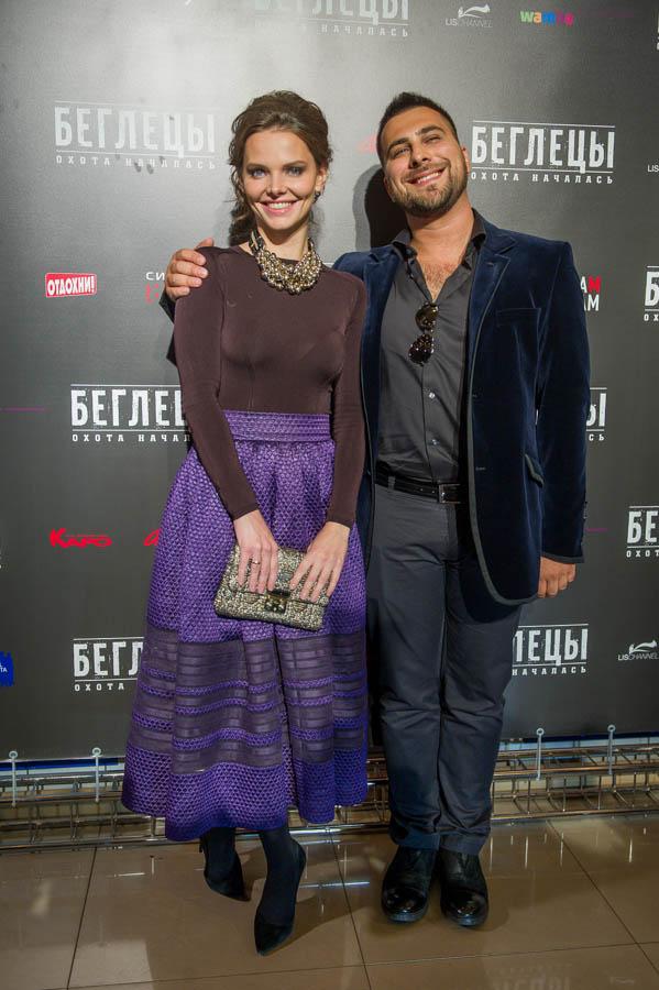 Лиза Боярская и Рустам Мосафир