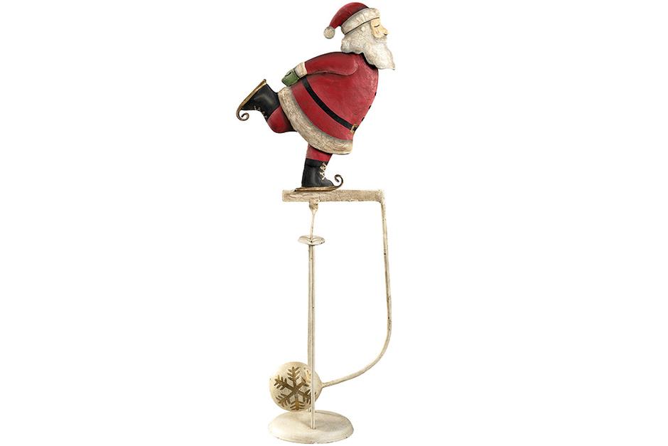 Маятник «Санта на коньках»