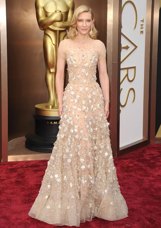 Кейт Бланшетт на премии «Оскар» Элизабет Стюарт