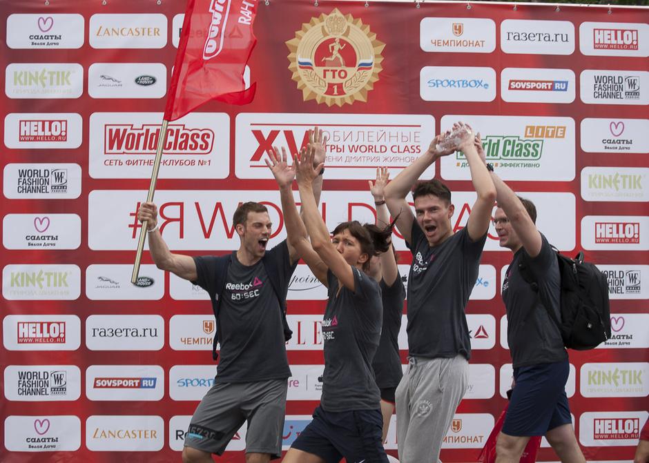 Ежегодный праздник спорта World Class: XVI Игры имени Дмитрия Жирнова