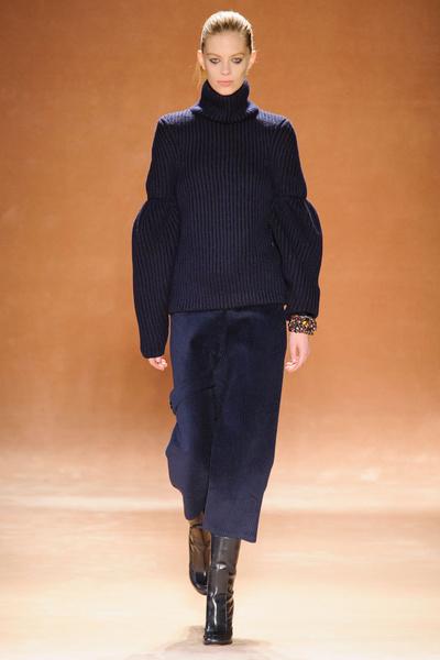 Показ Victoria Beckham на Неделе моды в Нью-Йорке | галерея [1] фото [10]