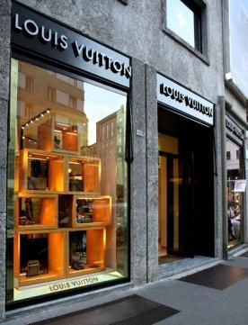 Магазин Louis Vuitton в Милане