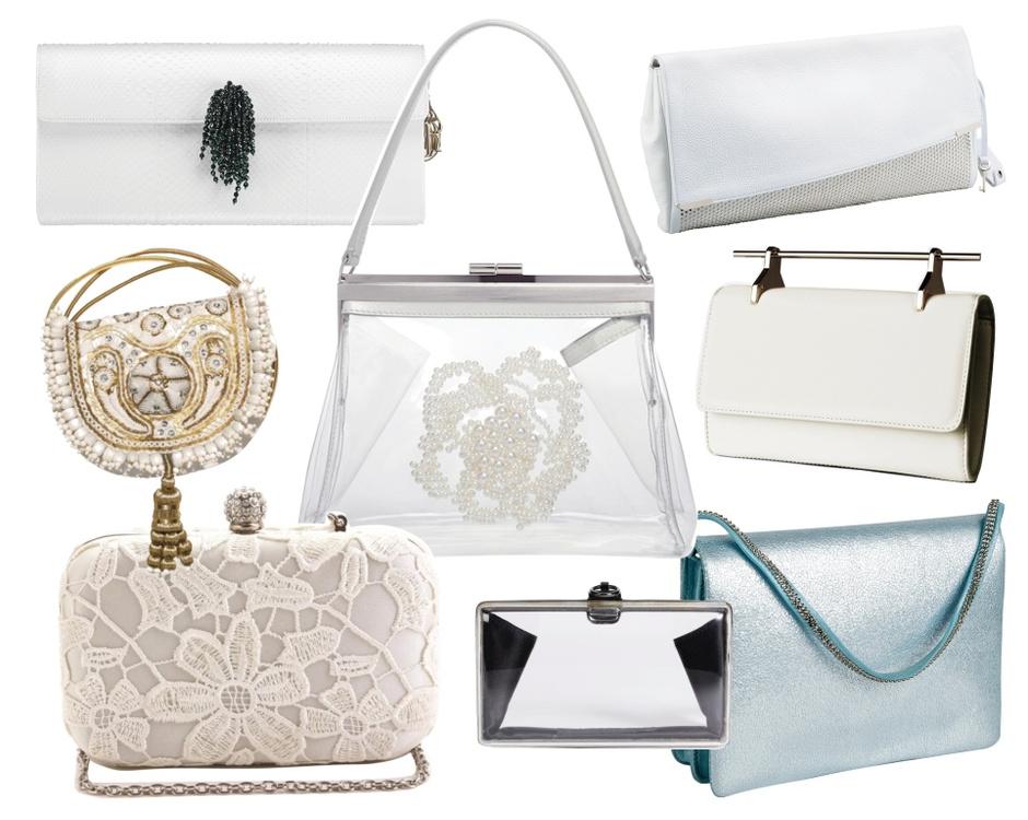 верхний ряд - Dior, Jimmy Choo; средний ряд - H&M, Simone Rocha, M2Malletier; нижний ряд - Vicini for Centro, Reece Hudson, Schumacher