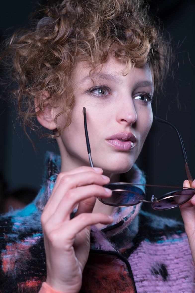 Как повторить подиумный макияж Armani?