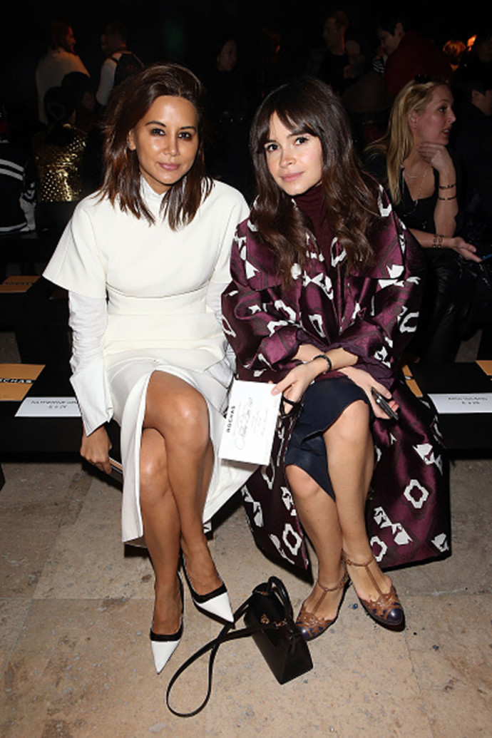 Miroslava Duma Rochas show as part of the Paris Fashion Week March 4, 2015