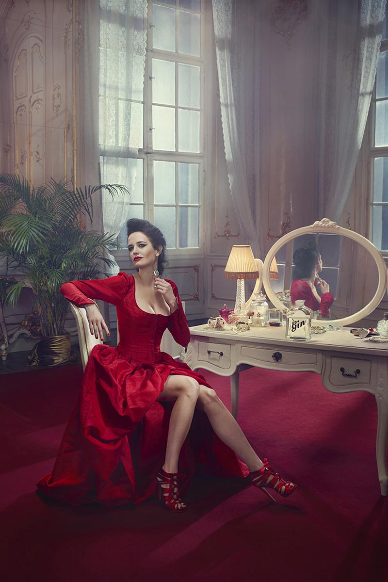 Ева Грин в календаре Campari 2015