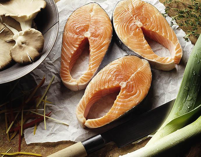 Жирная рыба северных морей