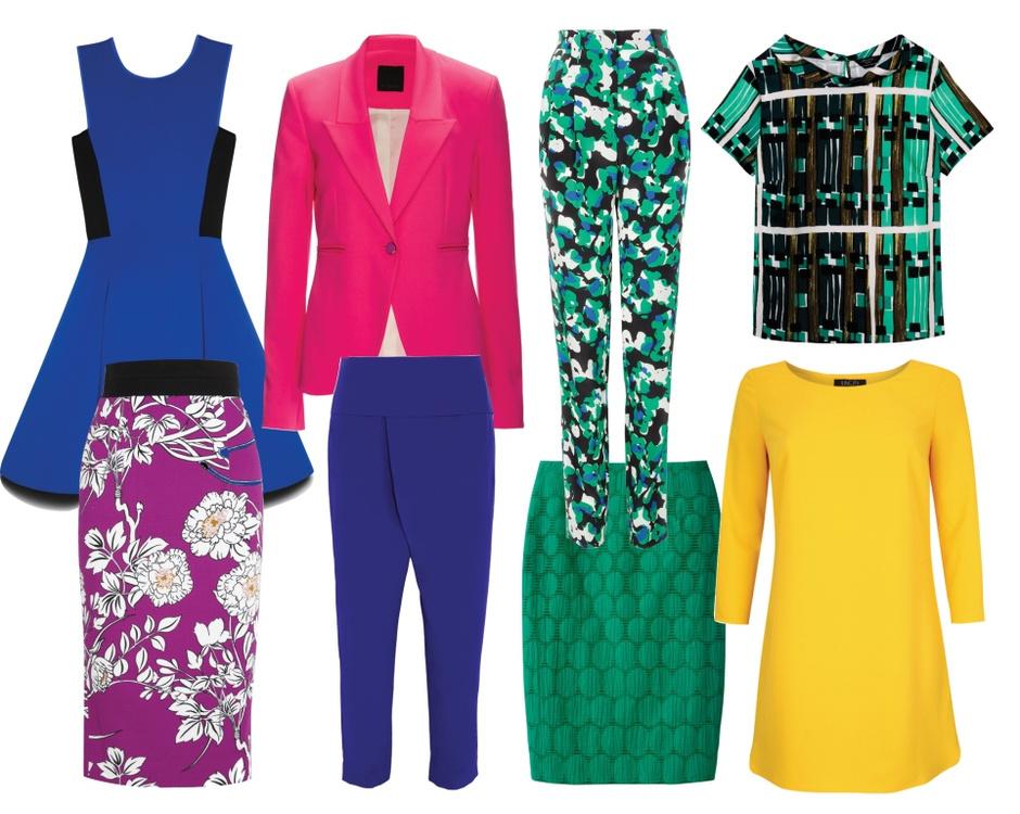 Платье - DKNY; жакет - Pinko; брюки - Sonia by Sonia Rykiel; топ - Weekend Max Mara (ТЦ Гименей); юбка - L'WREN SCOTT; брюки - M Missoni; юбка - Max Mara (ТЦ Гименей); платье - Incity