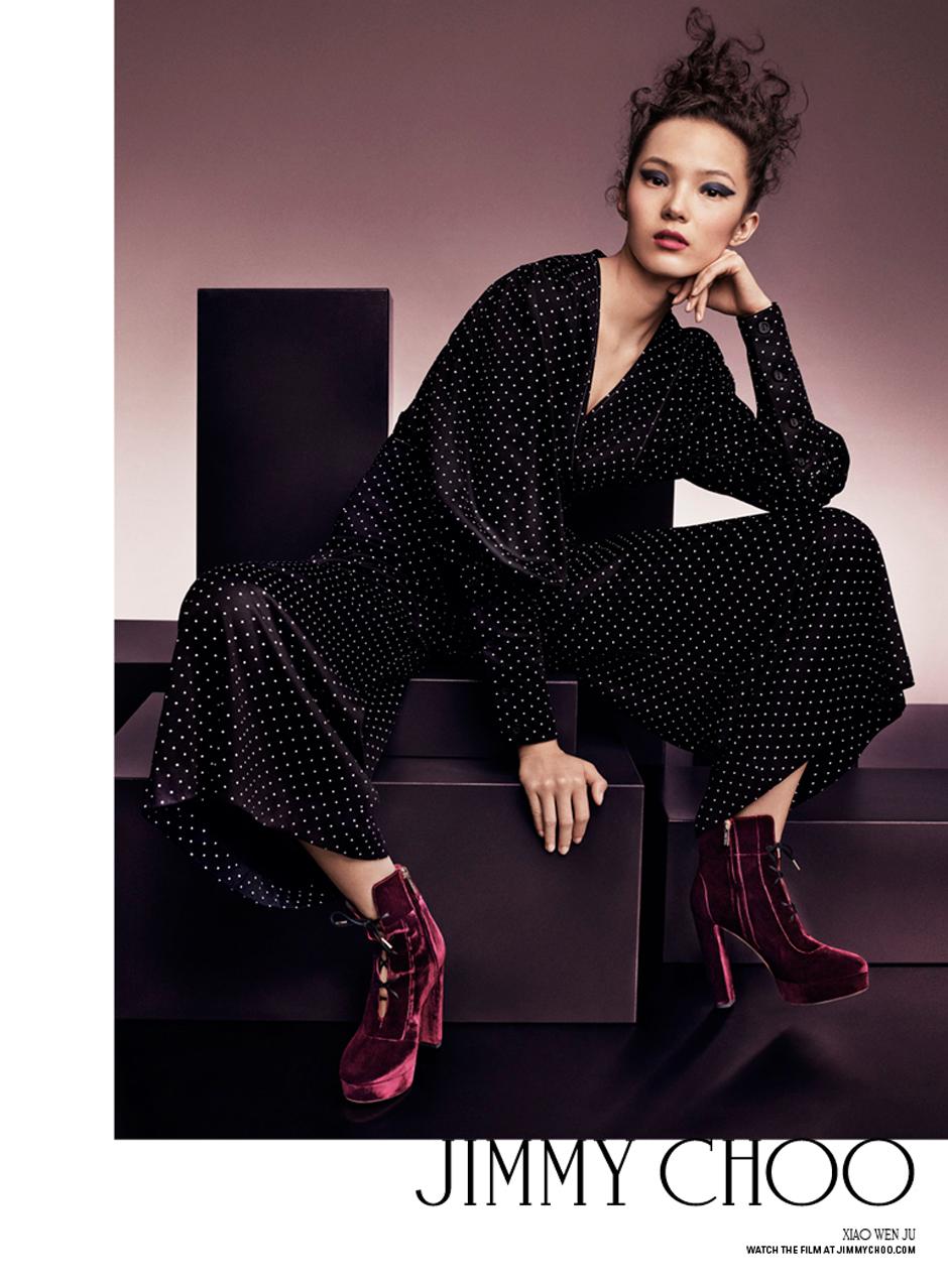 7 супермоделей в юбилейной рекламной кампании Jimmy Choo