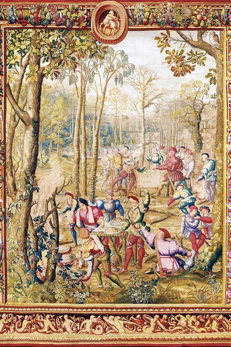 Гобелен из серии «Охота Максимилиана»