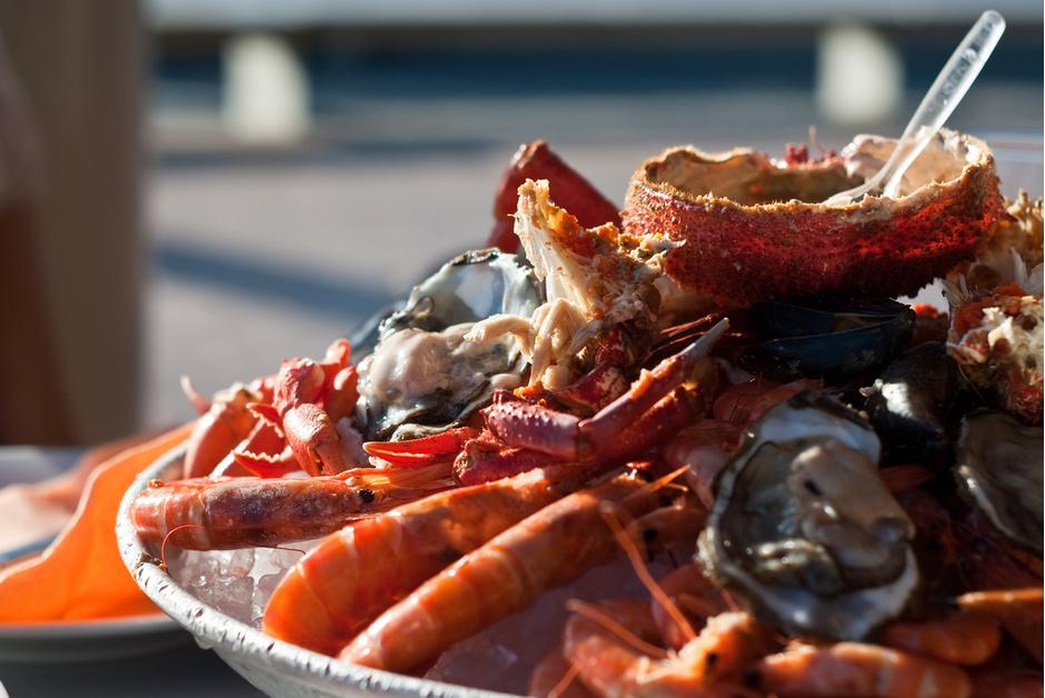 Рай морепродуктов
