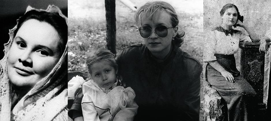Маргарита Васильевна Кочеткова, бабушка; Ольга Исламкина, мама; Мария Исламкина, прабабушка