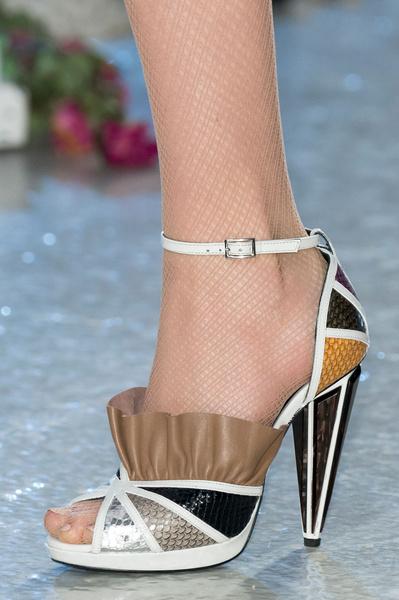 Самая красивая обувь Недели моды в Нью-Йорке | галерея [1] фото [8]