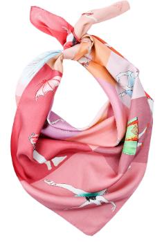 Выбор ELLE: шелковый платок Paula Such в ЦУМе