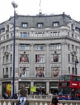 Лондонская неделя моды выходит на улицы