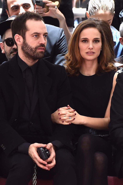 Бенжамин Мильпье и Натали Портман Dior Haute Couture Диор