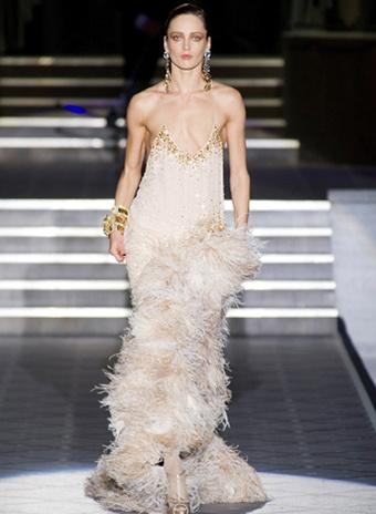 мода на перья 2013