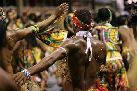 Карнавал в Рио-де-Жанейро фото