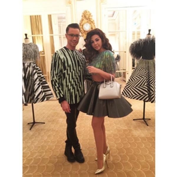 От первого лица: Неделя моды Haute Couture глазами редактора ELLE | галерея [5] фото [4]