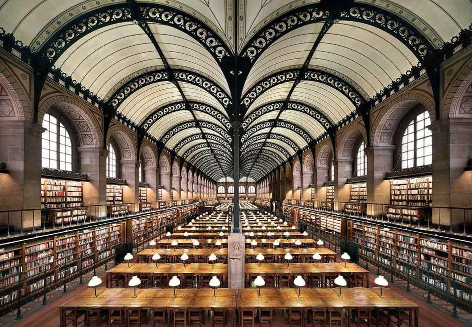 Библиотека Сент-Женевьев, Франция
