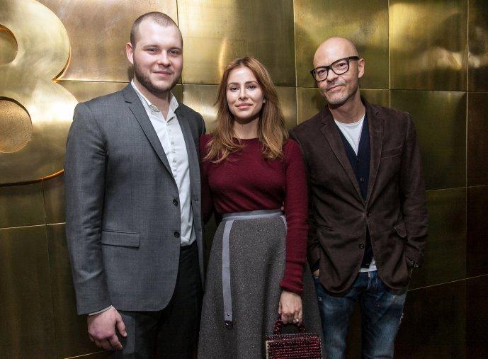 Сергей, Тата и Федор Бондарчуки