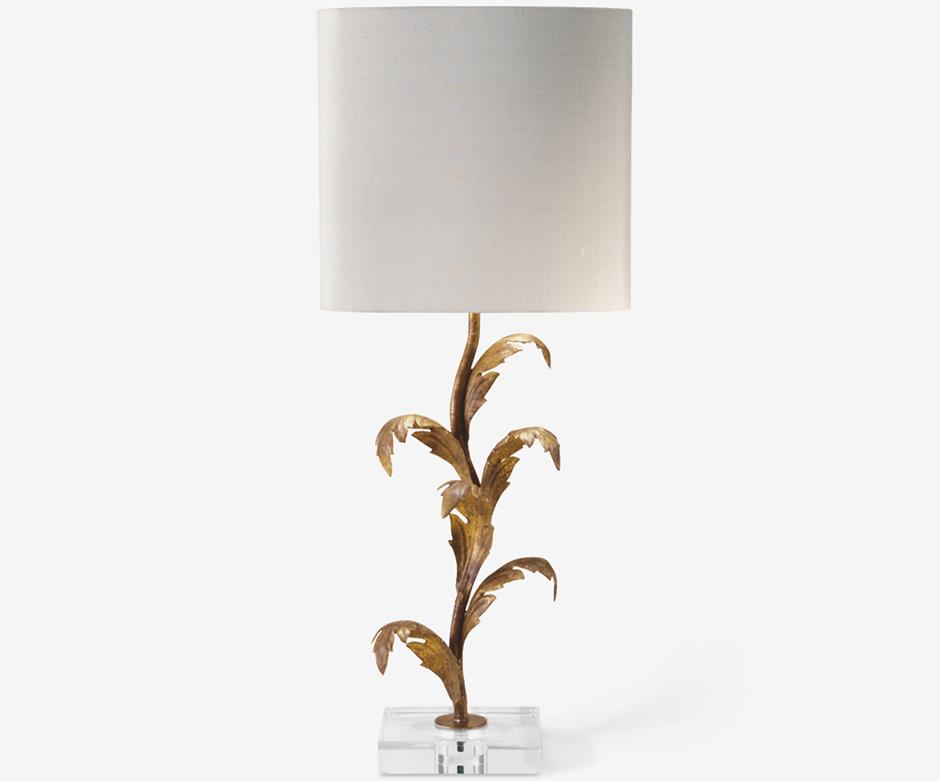 Настольная лампа Florentine Leaf