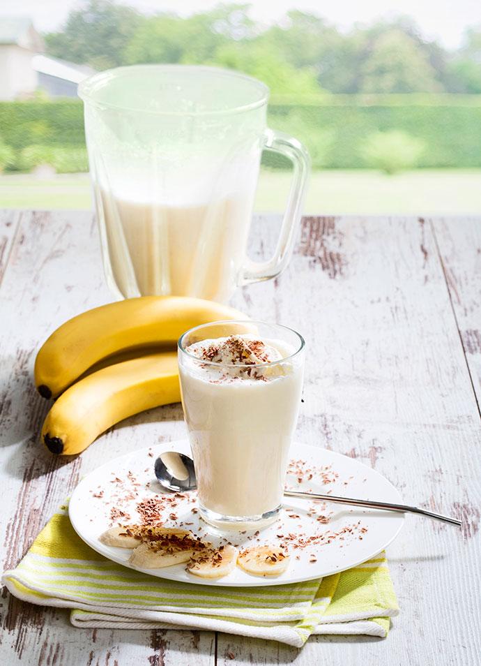 Молочно-банановый шейк