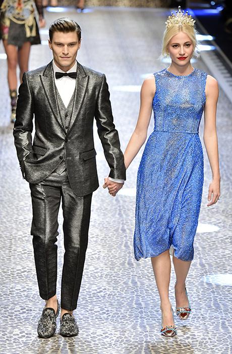 Молодые львы: шоу Dolce & Gabbana в Милане
