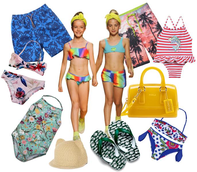 Пляжная мода для детей